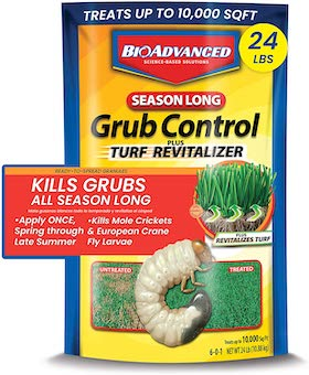 grub worm lawn treatment
