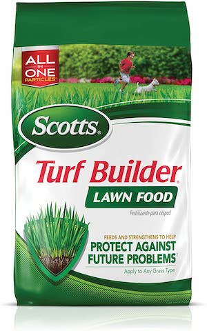 turf builders for yellow tip grass