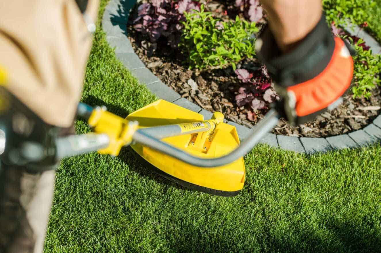Edger and trimmer combo